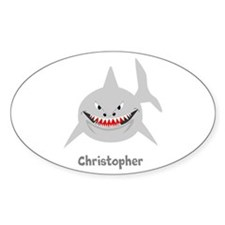 Personalized Shark Design Decal