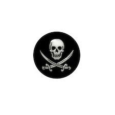 Cute Talk like a pirate Mini Button (100 pack)