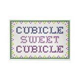 Cubicle Rectangle Magnet