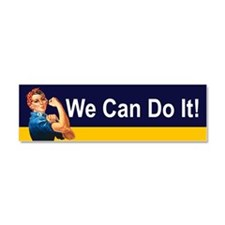 Funny We are the world Car Magnet 10 x 3