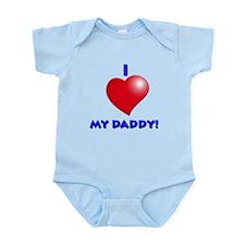Cute Rockin dad Infant Bodysuit