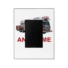 FIRETRUCK with Any Name or Text Picture Frame