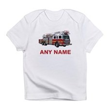 FIRETRUCK with Any Name or Text Infant T-Shirt
