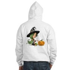 Witch and Pumpkin Hoodie