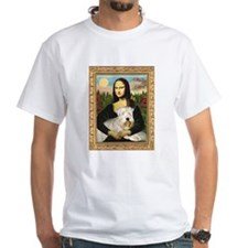 Mona Lisa & Wheaten Terrier Shirt