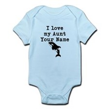 I Love My Aunt Whale Body Suit