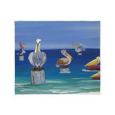 Pelicans Throw Blanket