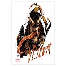 Abstract Venom Wall Art