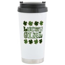Cute Lucky irish Thermos Mug