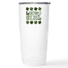 Cute Irish luck Travel Mug