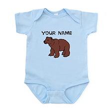 Custom Brown Bear Body Suit