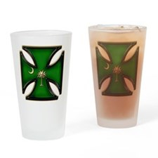 Irn Crs SC StPats gold.png Drinking Glass