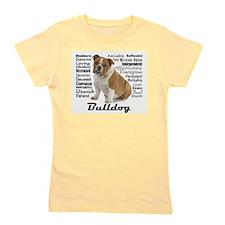 Bulldog Traits Girl's Tee