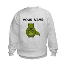 Custom Cartoon Dinosaur Sweatshirt