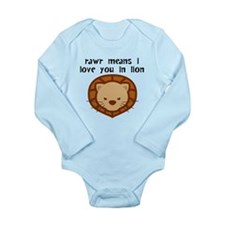 Rawr Means I Love You Body Suit