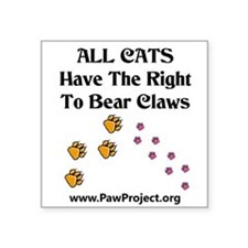 Right To Bear Claws Sticker