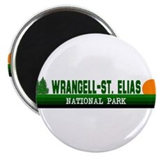 "Wrangell-St. Elias National P 2.25"" Magnet (100 pa"
