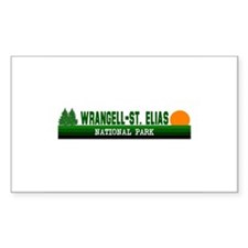 Wrangell-St. Elias National P Sticker (Rectangular