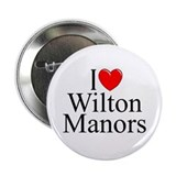 """I Love Wilton Manors"" Button"