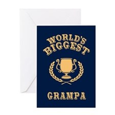 World's Biggest Grampa Greeting Card