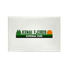 Kenai Fjords National Park Rectangle Magnet (10 pa