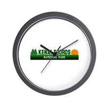 Kenai Fjords National Park Wall Clock