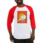 Sunburst White Turkey Baseball Jersey