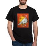 Sunburst White Turkey Dark T-Shirt