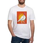 Sunburst White Turkey Fitted T-Shirt