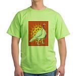 Sunburst White Turkey Green T-Shirt