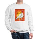 Sunburst White Turkey Sweatshirt