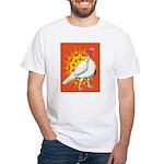 Sunburst White Turkey White T-Shirt
