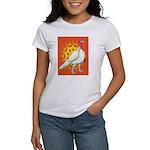 Sunburst White Turkey Women's T-Shirt