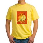 Sunburst White Turkey Yellow T-Shirt