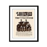 The Wild Bunch Framed Panel Print