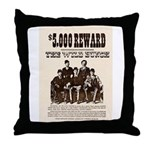 The Wild Bunch Throw Pillow
