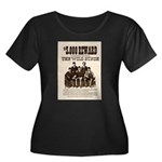The Wild Bunch Women's Plus Size Scoop Neck Dark T