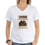 The Wild Bunch Women's V-Neck T-Shirt
