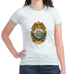 New Hampshire State Police Jr. Ringer T-Shirt