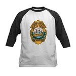 New Hampshire State Police Kids Baseball Jersey