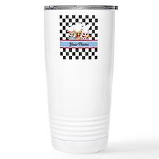 Personalized Chef Owls Travel Coffee Mug