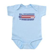 Bill Richardson for President Onesie