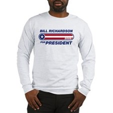 Bill Richardson for President Long Sleeve T-Shirt