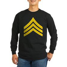 SERGEANT STRIPES 10x10 001 110608 Long Sleeve T-Sh