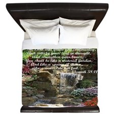 Watered Garden King Duvet