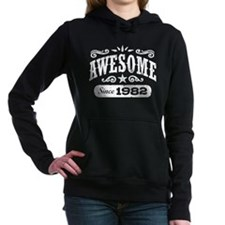 Awesome Since 1982 Women's Hooded Sweatshirt