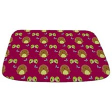 Happy Hedgehogs Bathmat