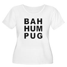 BAH HUM PUG Plus Size T-Shirt