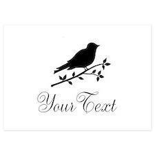 Personalizable Bird Silhouette Invitations