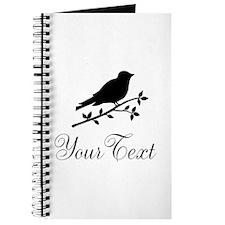 Personalizable Bird Silhouette Journal
